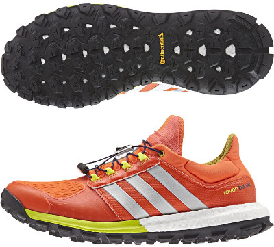 Adidas Adistar Raven Boost Trail Running Shoes Women