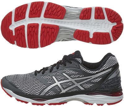asics cumulus 18 mens review